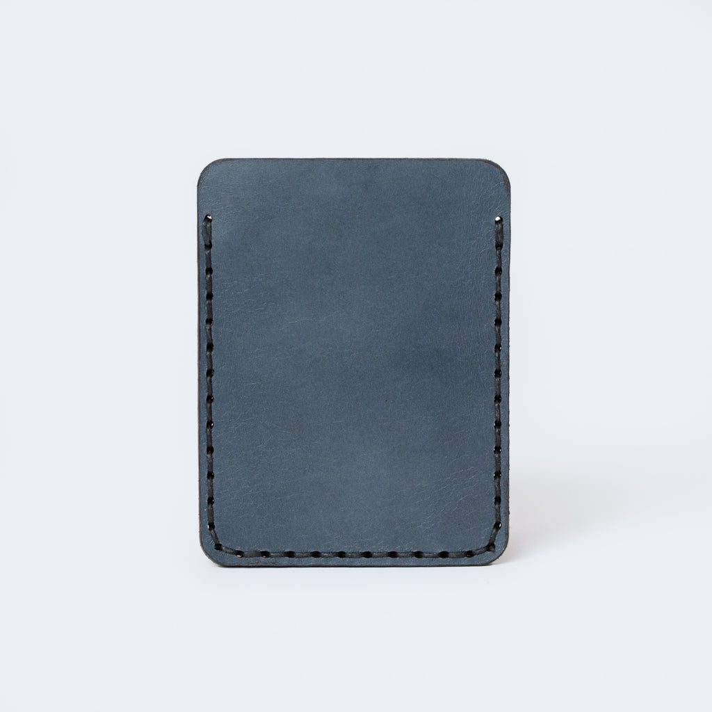 Slim Card Sleeve - Steel Blue