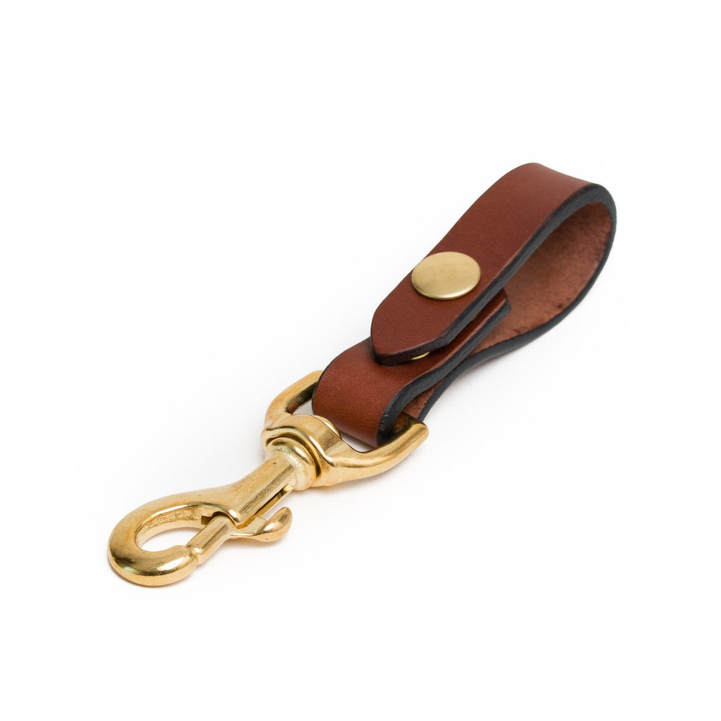 Key Carry - Chestnut/Brass - Apogee Goods