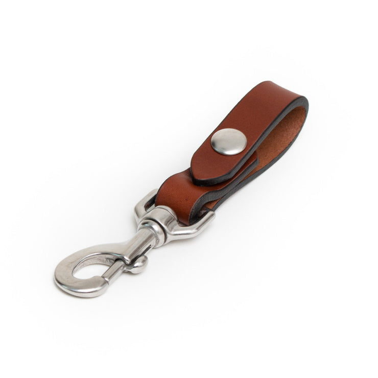 Key Carry - Chestnut/Stainless Steel