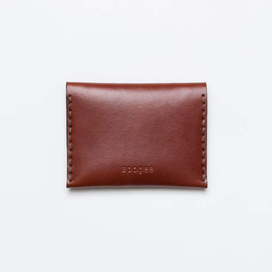 Short Double Snap Wallet - Chestnut