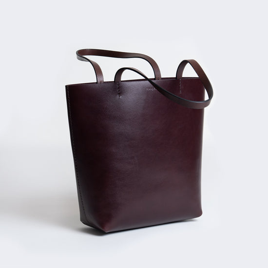 Habit Tote - Dark Chocolate
