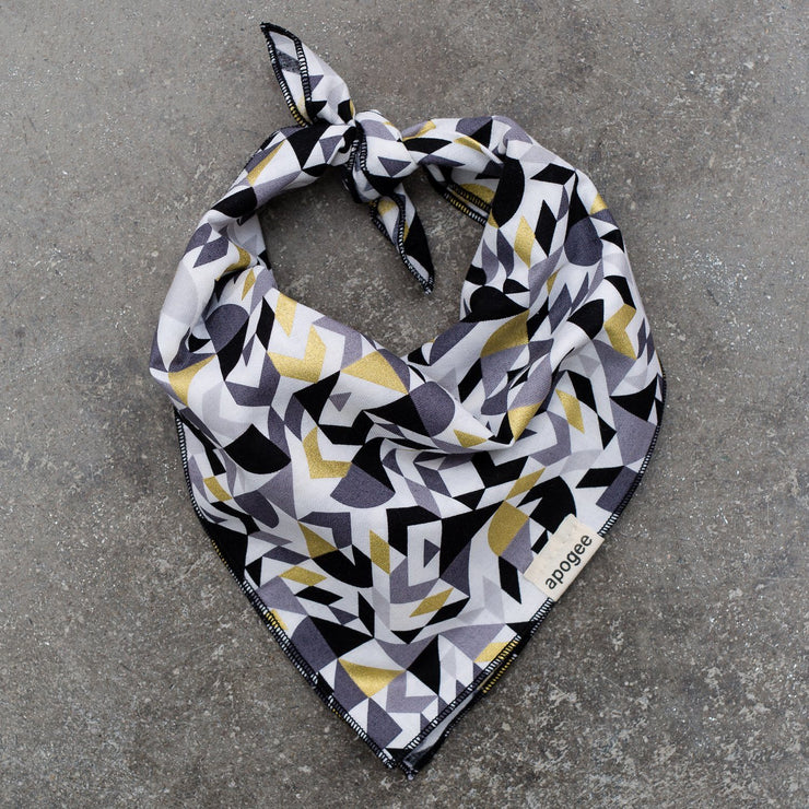 Dog Bandana - Golden Geo - Apogee Goods