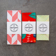 Dog Bandana - Yellow School Paper - Apogee Goods