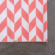 Dog Bandana - Pink + White Chevron - Apogee Goods