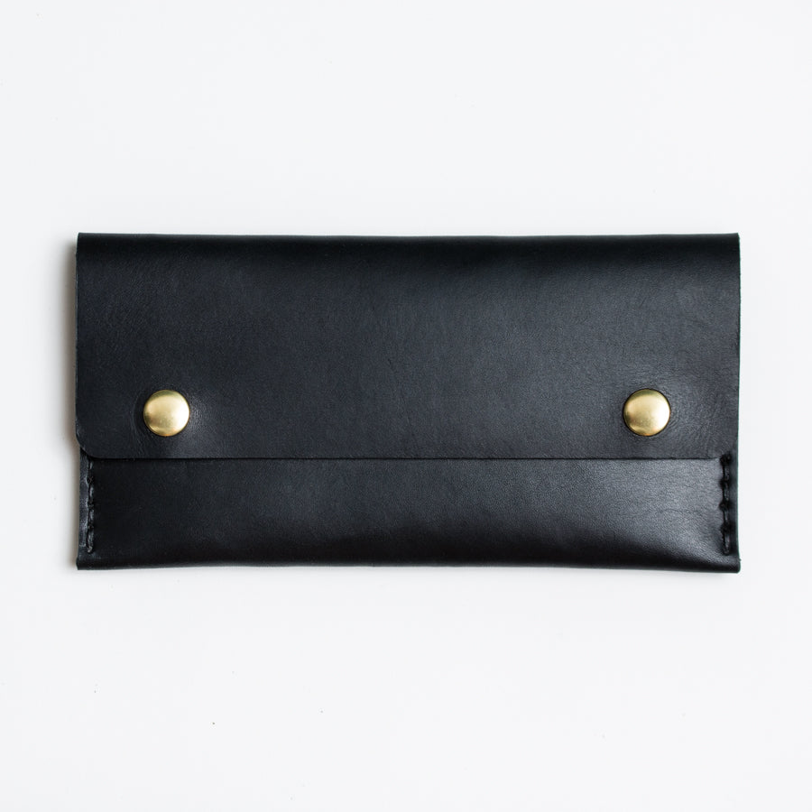 Apogee Goods long black mens wallet