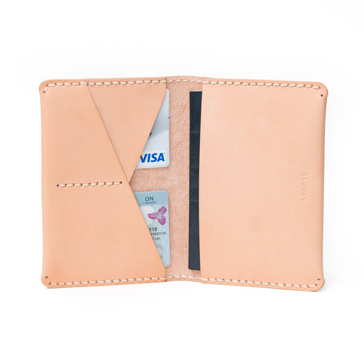 Passport Wallet - Natural - Apogee Goods