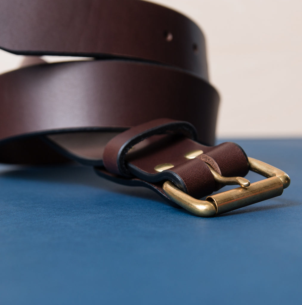 Wide Belt - Brown