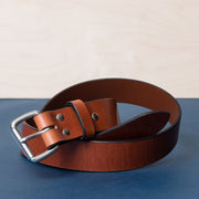 Wide Belt - Cognac