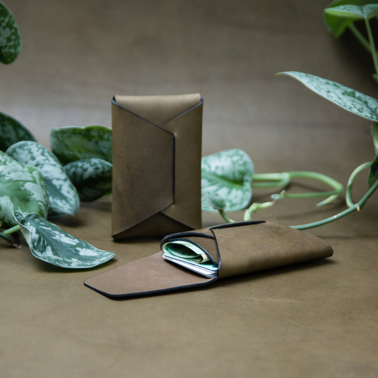 Stitchless Card Carry - Olive