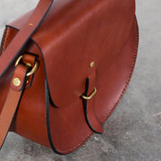 Saddle Bag - Chestnut - Apogee Goods