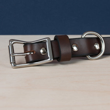 Standard Dog Collar - Brown - Apogee Goods