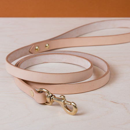 Standard Dog Leash - Natural - Apogee Goods