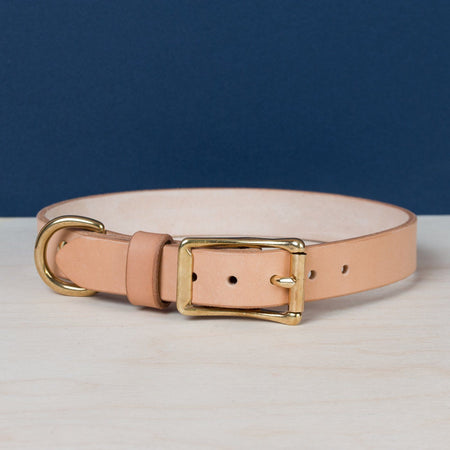 Standard Dog Collar - Natural - Apogee Goods