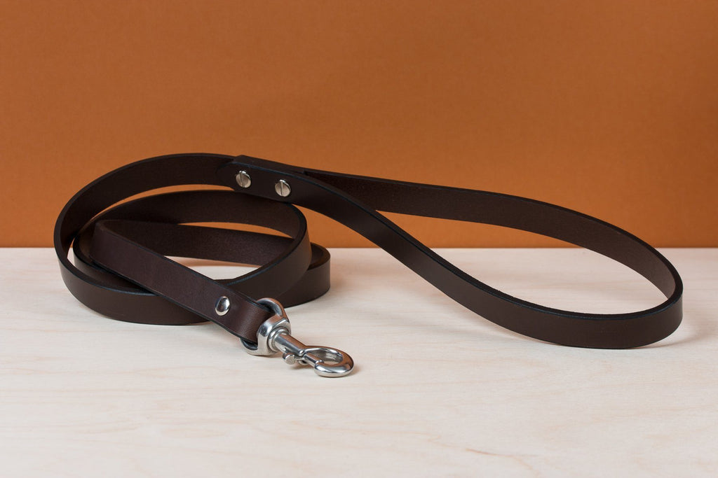 Standard Dog Leash - Brown - Apogee Goods