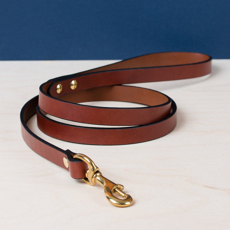 Standard Dog Leash - Chestnut - Apogee Goods