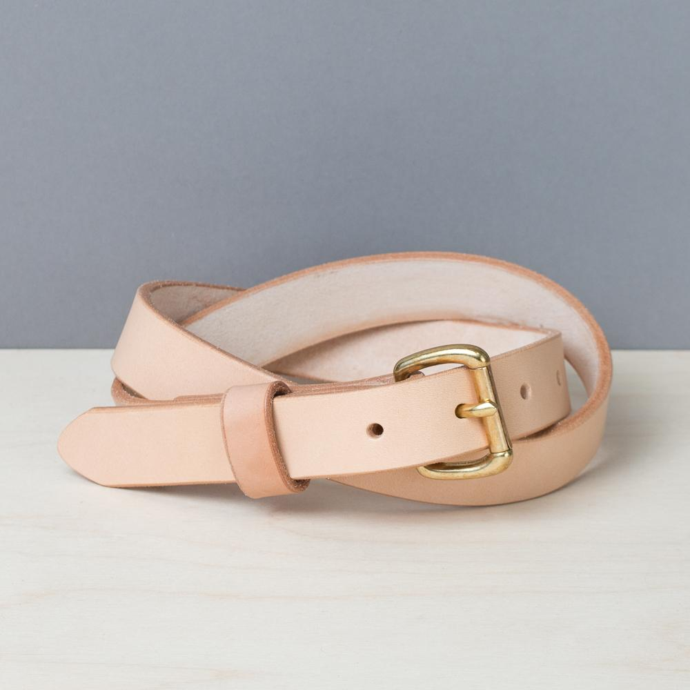 Slim Belt - Natural - Apogee Goods