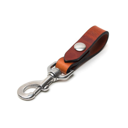 Key Carry - Whiskey/Stainless Steel - Apogee Goods