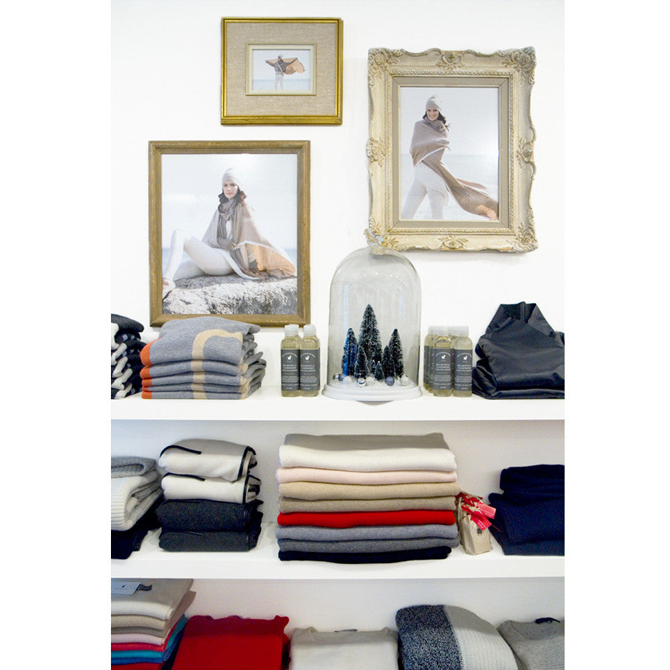 The Cashmere Shop Got A Makeover