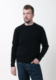 Men's Cashmere Round Neck - The Cashmere Shop  - 2