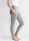 Cashmere Jogging Pants in Light Grey, On Sale - XXL