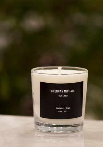 Brennan Michael Soy Candle ~ Black Label