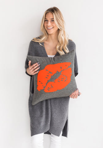 Brodie Cashmere Kiss Throw Pillow