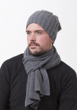 Heavy Cable Hat - The Cashmere Shop  - 3