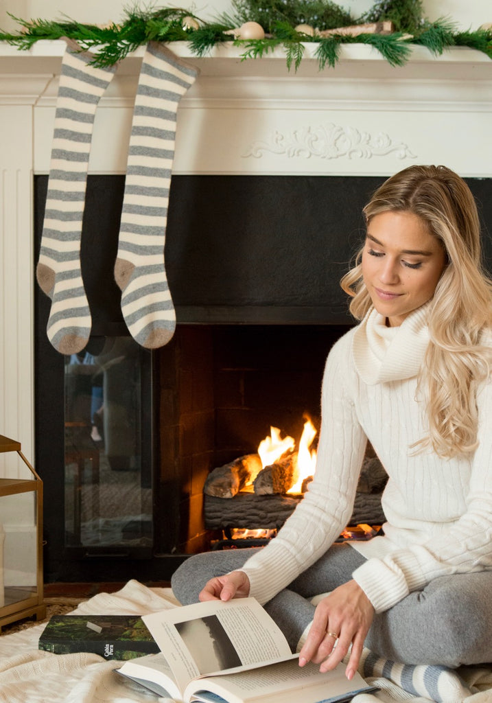 Cashmere Christmas Stocking by the Cashmere Shop