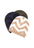 Cashmere Chevron Hat - The Cashmere Shop  - 1