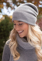 Classic Cashmere Hat - The Cashmere Shop  - 12