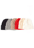 Heavy Cable Cashmere Hat - The Cashmere Shop  - 5