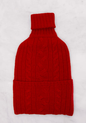 Cashmere Hotwater Bottle Cover