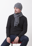 Heavy Cable Hat - The Cashmere Shop  - 2