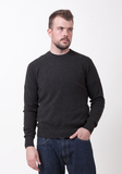Men's Cashmere Round Neck - The Cashmere Shop  - 1