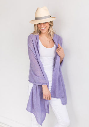 Everyday Classic Wrap Mauve