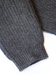 Cashmere Leg Warmers Charcoal Grey