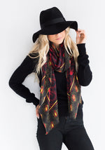 Yarnz Light Bulb Scarf, Black