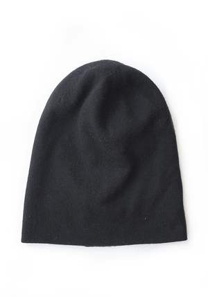 Long Skull Cashmere Hat  - 100% Mongolian Cashmere by The Cashmere Shop