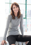 Majestic Filatures Light Grey Crew Neck on Sale - Yorkville, Toronto