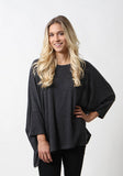 Majestic Filatures Oversized Crew Neck - Boyfriend Style - On Sale