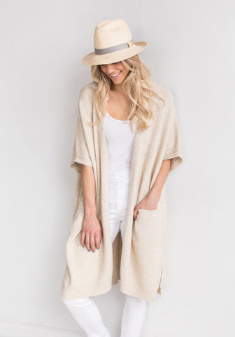 Fitted Women's Cashmere Cardigan