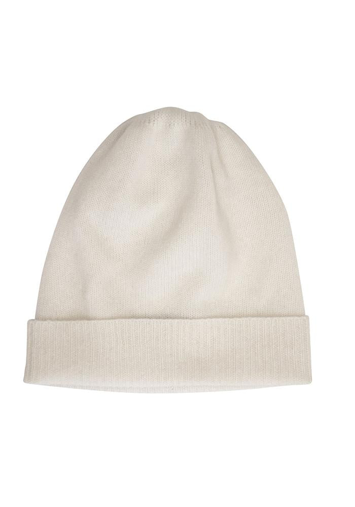 Classic Cashmere Hat in White