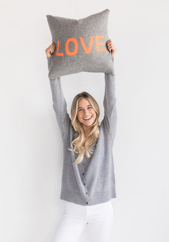 Brodie Cashmere Love Throw Pillow