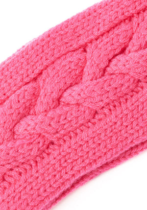 Cashmere Cable Head Band - The Cashmere Shop  - 4