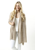 Ladder Stitch Cashmere Wrap