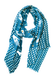 Yarnz Magic Hand Scarf, Blue