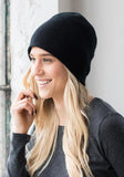 Black Cashmere Hat