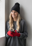 Cashmere Texting Gloves
