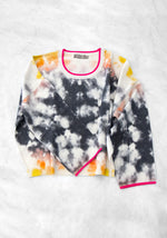 Brodie Chicago Tie Dye Sweater, O/S, Black