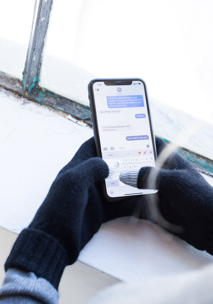 Touchscreen Texting Gloves